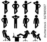 man   person   businessman... | Shutterstock .eps vector #567885007