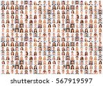 collage picture of different... | Shutterstock . vector #567919597