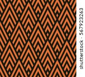 seamless black and bronze... | Shutterstock .eps vector #567923263