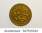 One Pound Coin Reverse On The...