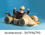 photo of  young racer in... | Shutterstock . vector #567936793