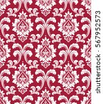 floral pattern. wallpaper... | Shutterstock .eps vector #567952573
