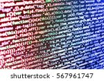 software engineer at work....   Shutterstock . vector #567961747