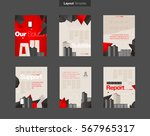 vector layout design template... | Shutterstock .eps vector #567965317