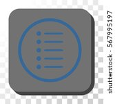 items toolbar icon. vector...