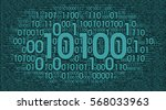 digital vector background ... | Shutterstock .eps vector #568033963