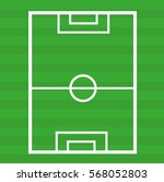 football pitch icon on white...   Shutterstock .eps vector #568052803