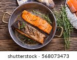 salmon fillets. grilled salmon  ...