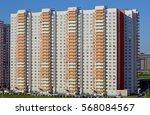 new buildings in an area... | Shutterstock . vector #568084567