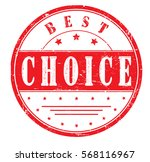 "rubber stamp ""best choice"" ... 