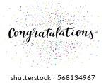 congratulations  modern... | Shutterstock .eps vector #568134967