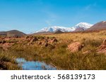 view the atlas mountains of... | Shutterstock . vector #568139173