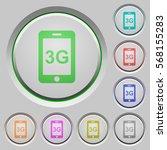 third gereration mobile network ... | Shutterstock .eps vector #568155283