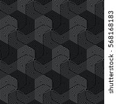 black and gray pattern... | Shutterstock .eps vector #568168183