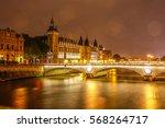 Conciergerie Building In Paris...
