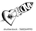 the bullet with the inscription ... | Shutterstock .eps vector #568264993