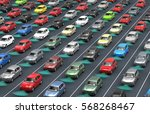 self driving electronic... | Shutterstock . vector #568268467