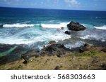 grisgris beach  mauritius | Shutterstock . vector #568303663