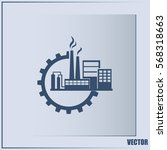 industrial icon | Shutterstock .eps vector #568318663