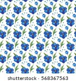 seamless gentle background with ... | Shutterstock . vector #568367563