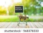 business concept   family... | Shutterstock . vector #568378333