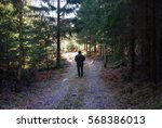 Man On A Relaxing Walk At A...