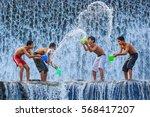 bali  indonesia  june 2  2014 ... | Shutterstock . vector #568417207