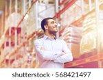 wholesale  logistic  business ...   Shutterstock . vector #568421497