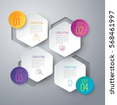 infographics design vector and... | Shutterstock .eps vector #568461997