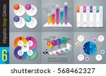 infographics design vector and... | Shutterstock .eps vector #568462327