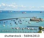 view of the coast  salvador... | Shutterstock . vector #568462813