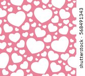 vector seamless pattern with... | Shutterstock .eps vector #568491343