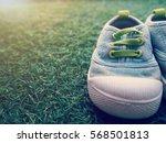 A Cute Little Baby Shoe On...