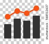 analytics icon. vector... | Shutterstock .eps vector #568512637