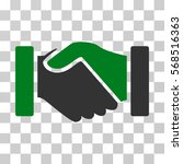 acquisition handshake icon.... | Shutterstock .eps vector #568516363