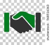 acquisition handshake icon....   Shutterstock .eps vector #568516363