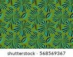 motley seamless pattern.... | Shutterstock . vector #568569367