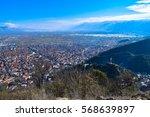 view to strumica  strumitsa ... | Shutterstock . vector #568639897