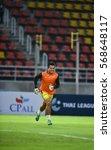 Small photo of BANGKOK-THAILAND-30Jan,2017:Kittipong puteawcheak goalkeeper of Bangkok UTD in action during competition AFC champion league Play-off between Bangkok utd and Johor darul tazim at Thammasat Stadium