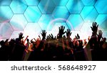 dancing people  music... | Shutterstock .eps vector #568648927