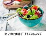 Fresh Mediterranean Salad With...