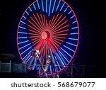 giant ferris wheel | Shutterstock . vector #568679077