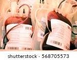 details shot of platelet... | Shutterstock . vector #568705573