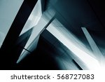 wide angle abstract background... | Shutterstock . vector #568727083