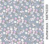 elegant gentle trendy pattern... | Shutterstock .eps vector #568742203