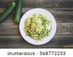 Zucchini Noodles With Zucchini