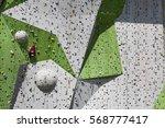 rock climbing wall   Shutterstock . vector #568777417