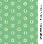 seamless geometric line pattern ... | Shutterstock .eps vector #568777813
