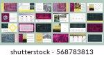 original presentation templates ... | Shutterstock .eps vector #568783813