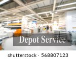 warehouse or storehouse with... | Shutterstock . vector #568807123